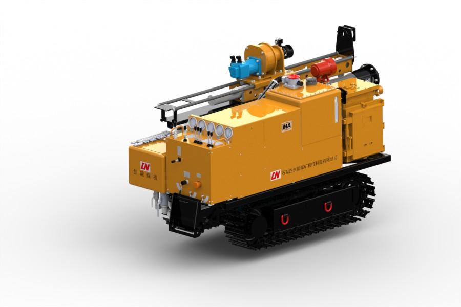 立柱可收缩式液压深孔钻车