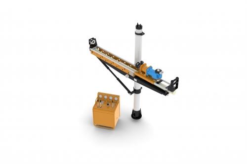 架柱式液压回转钻机(乳化液 )